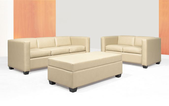 Vienna by OFGO  Vienna Series lounge seating is GREENGUARD Indoor Air Quality Certified for a healthier environment, and meets the requirements for low-emitting materials LEED credit 4.5 (systems furniture and seating).  # Office Furniture, Comfort, Modern