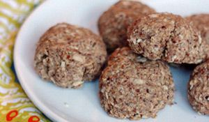 High Fiber Oatmeal Cookies - very healthy!