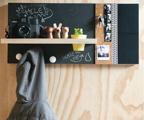 Decoración infantil: pizarras en espacios pequeños - Little Big Flat