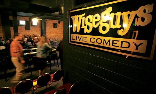(Standard-Examiner) Wiseguys Comedy Cafes.