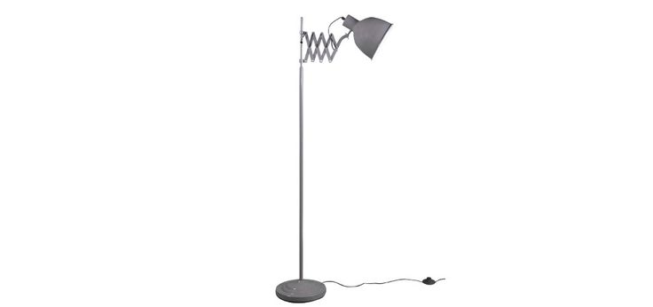 lampadaire taupe extensible design pas cher
