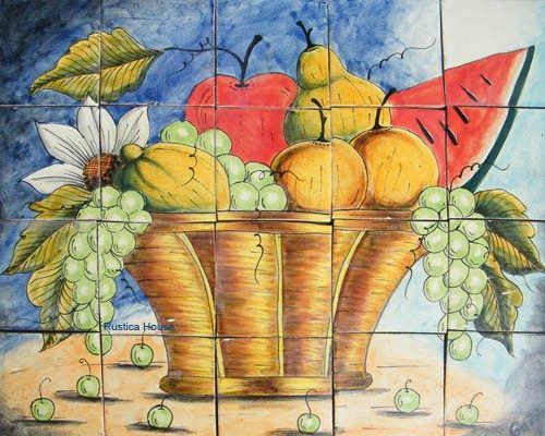245 best Mexican Tile Murals images on Pinterest | Tile murals ...