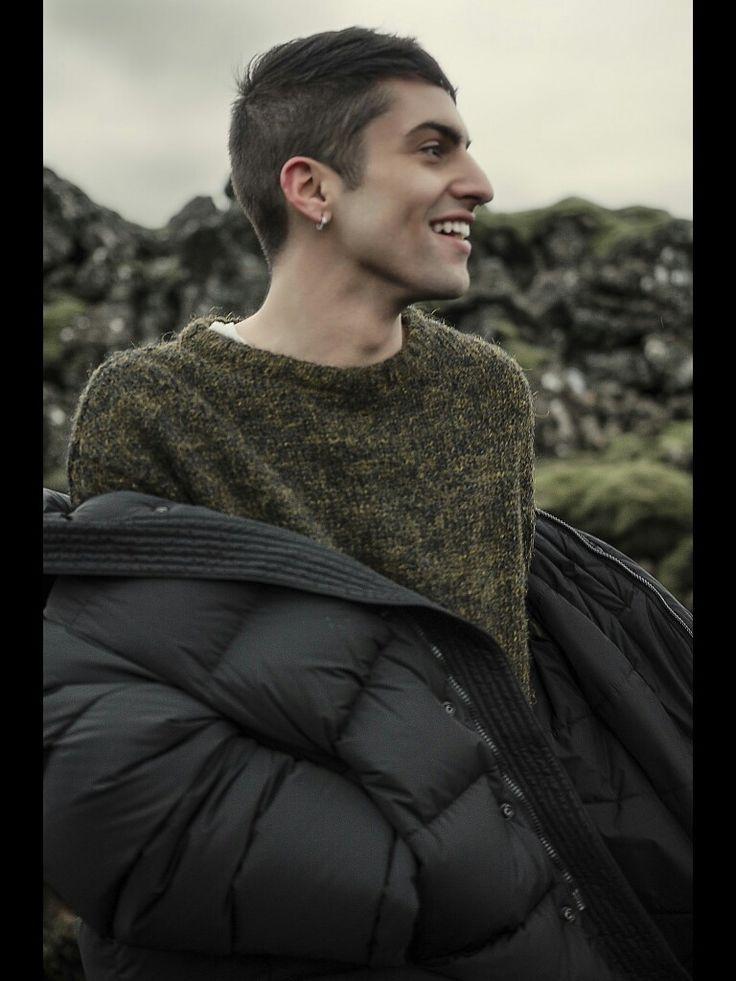 Mitchie in Iceland