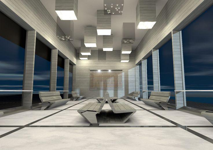 Projekt nowego dworca PKS w Przemyślu #wizualizacja #architektura #dworzec #design #architecture