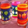 Happy Hanukkah Candle Holders   AllFreeKidsCrafts.com
