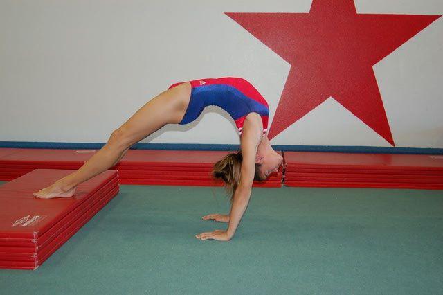 How To Do A Bridge In Gymnastics Bridges Gymnastics And