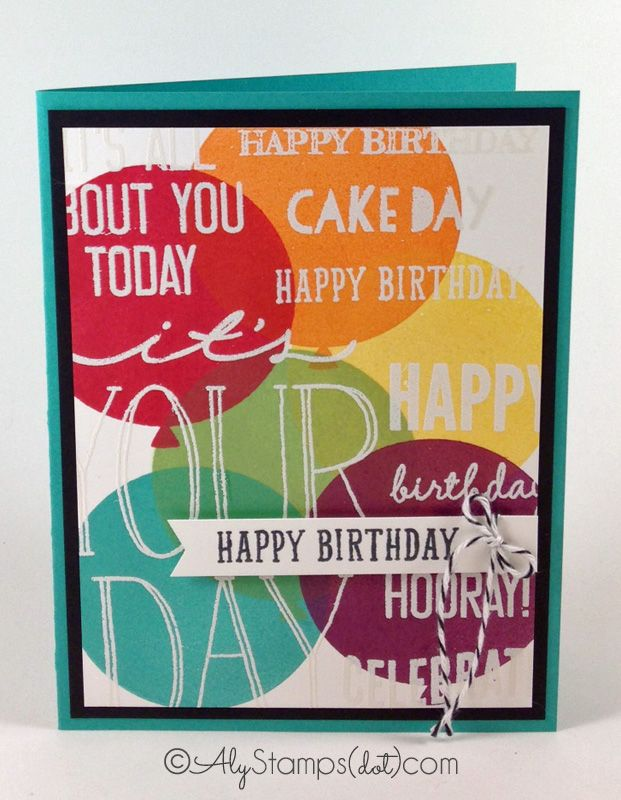 A Look at Some BIRTHDAY Cards!!