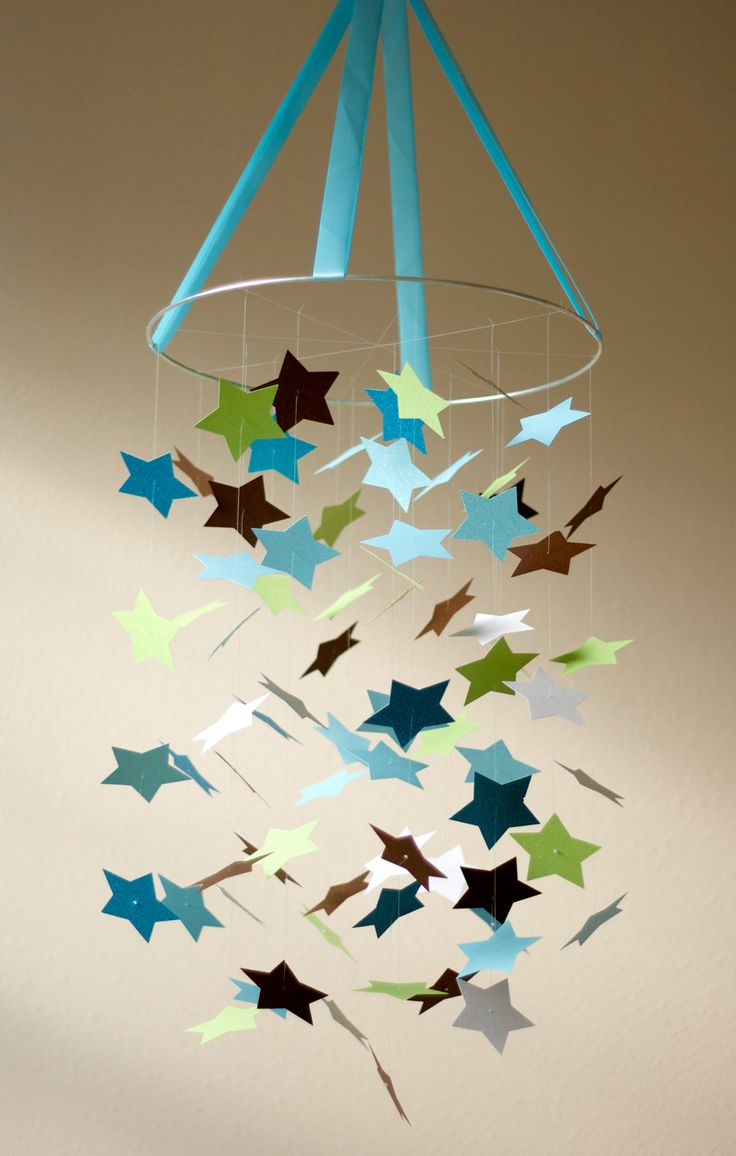 Baby Boy Star Mobile Kit Diy Great Craft Project Star