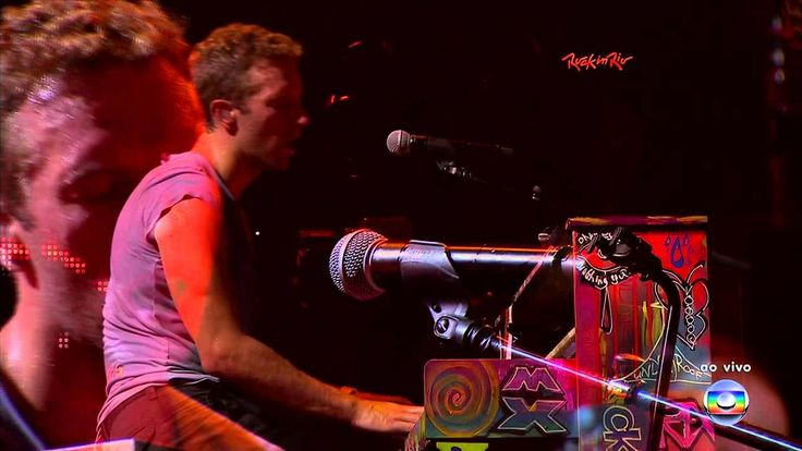 Coldplay - The Scientist Live In Rock In Rio 2011 - WOW - listen to the crowd!