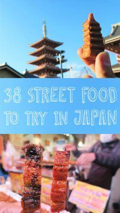 My Street Food Diary - Eating your way through Tokyo-Kyoto-Osaka