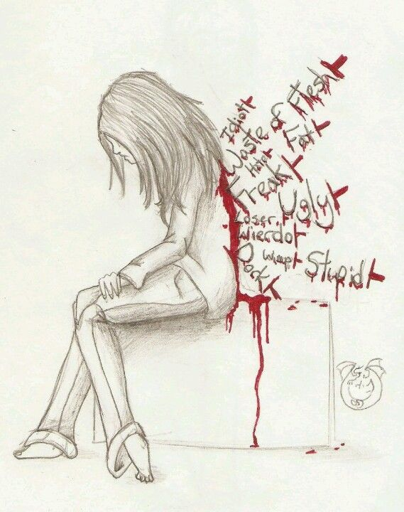Hate this....brings tears to my Face....No one....I mean NO ONE DESERVES TO BE BULLIED~ALANIZ
