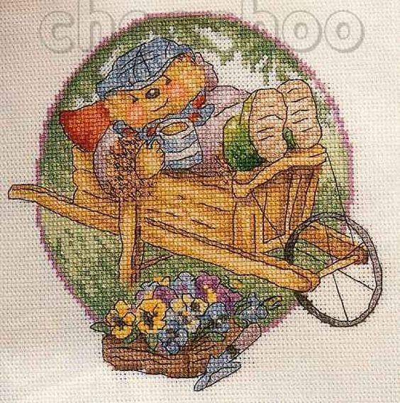 Country Companions Grandpa Cross Stitch Crazy Issue 50 September 2003 Saved