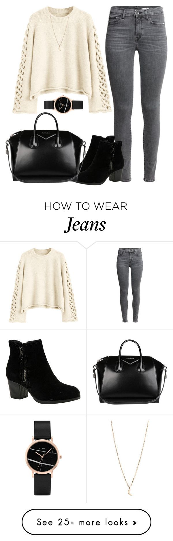"""Untitled #1590"" by blossomfade on Polyvore featuring Skechers, Minor Obsessions, Givenchy and CLUSE"