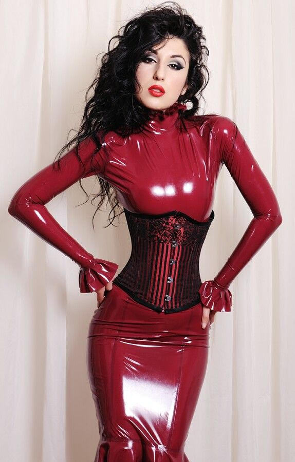 latex dress 50 dating