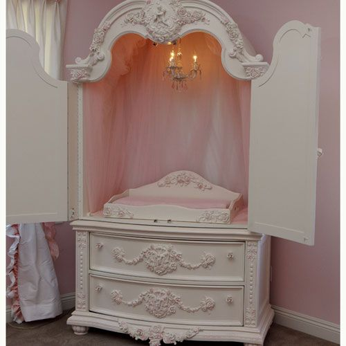 Armoire for the child's room (if you're rich)! Available from Posh Tots for $9,742.00