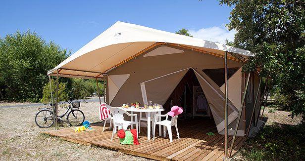 Tente Canada Plus d'infos sur : http://www.vacances-directes.com/locations/tente/
