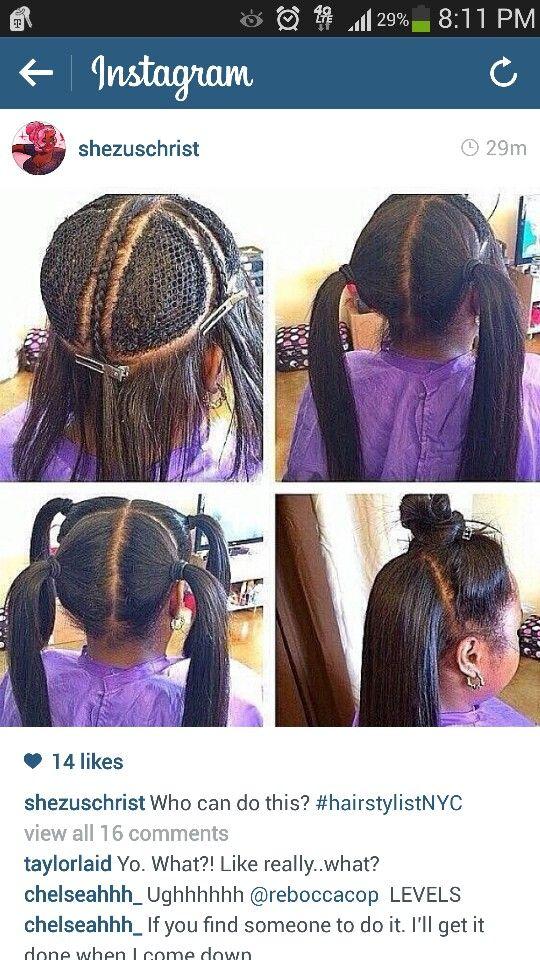vixen hair.