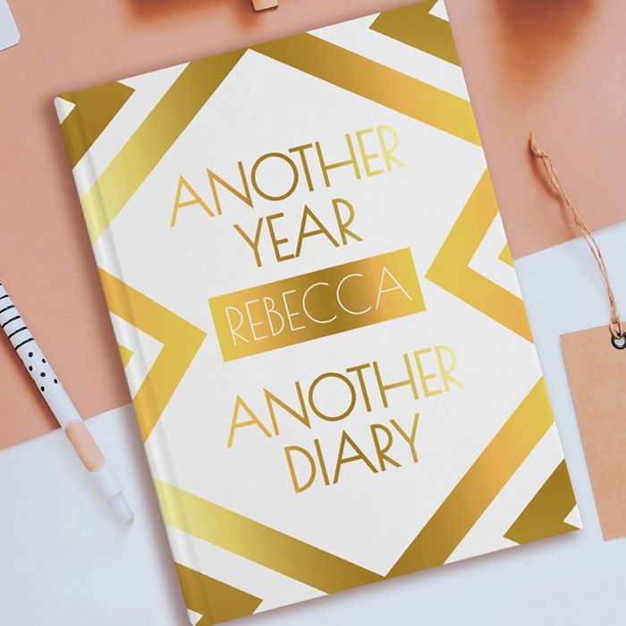 Personalised Diary - Another Year, Another Diary   GettingPersonal.co.uk