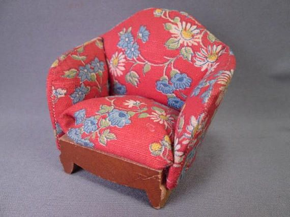 190 best The Toy Box Vintage Doll Furniture images on Pinterest