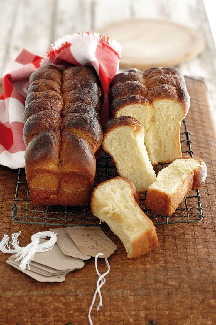 Dis 'n tradisionele Franse soetbrood met baie botter in. Jy kan maar sê dis 'n croissant wat sy lyf brood hou.