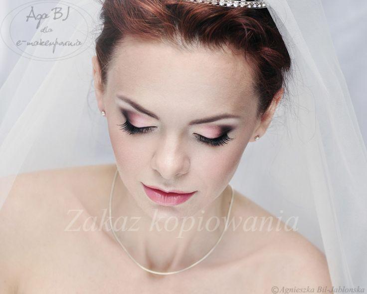 Agowe petitki: Makijaż ślubny