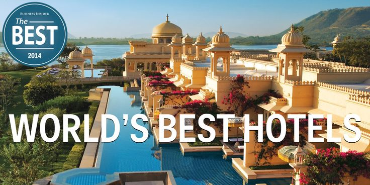 Our exclusive list of the world's best hotels.