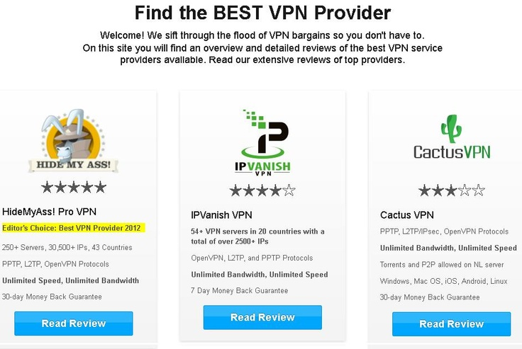 Best VPN guide provides complete information regarding best VPN service providers.