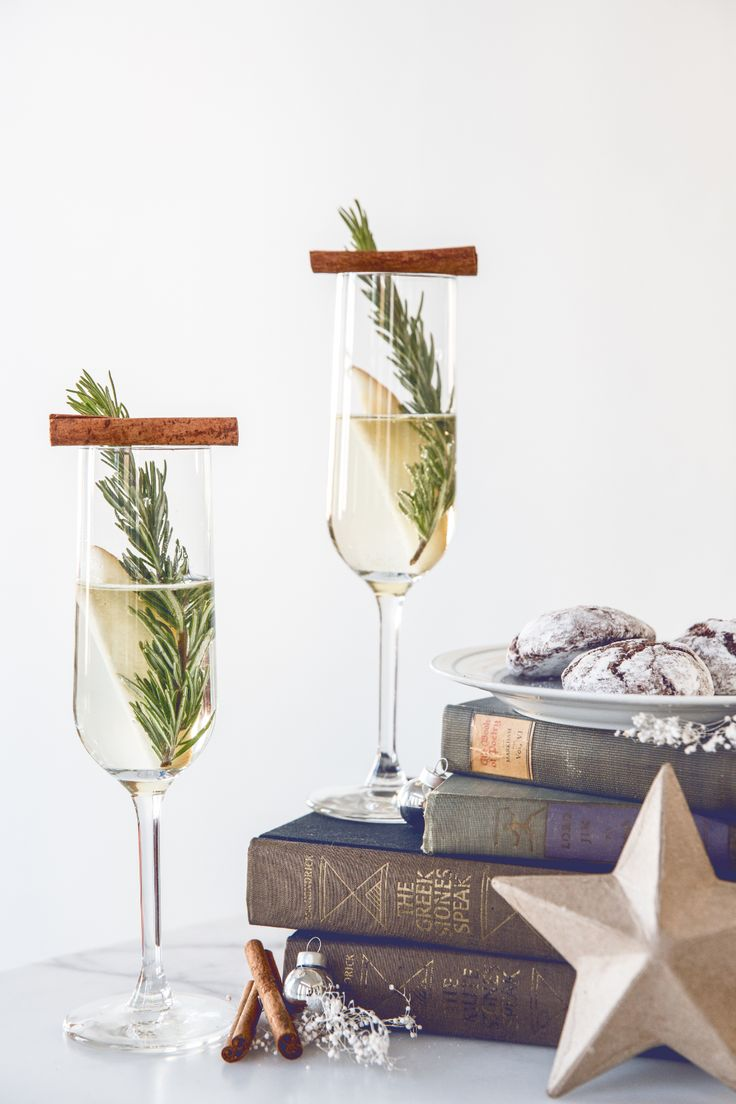 Crystal's Holiday Prosecco Cocktail Recipes | Rue