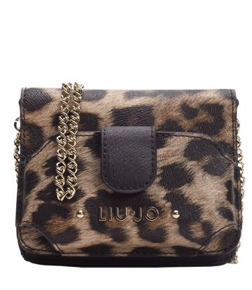 BANDOLERA LIU JO PORTA MOVIL ECOPELLE PRIN LEOPARDO