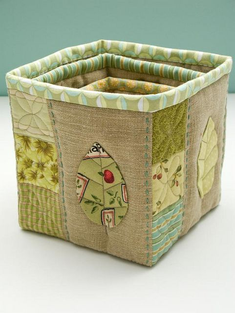 cesta de tecido