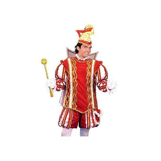 Prins Carnaval pakken voor heren  Prins Carnaval pak voor heren. Compleet Prins Carnaval pak voor heren bestaande uit een jas broek cape met kraag en een tas. Exclusief muts.  EUR 495.00  Meer informatie
