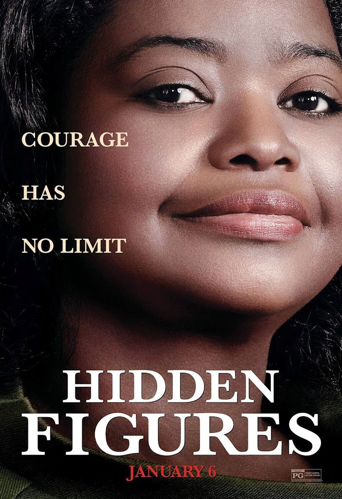 HIDDEN FIGURES movie poster No.2 (Octavia Spencer)