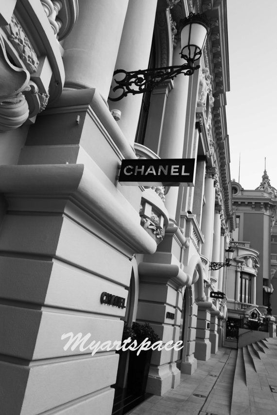 Chanel wall art print Chanel Boutique  Chanel by Myartspace