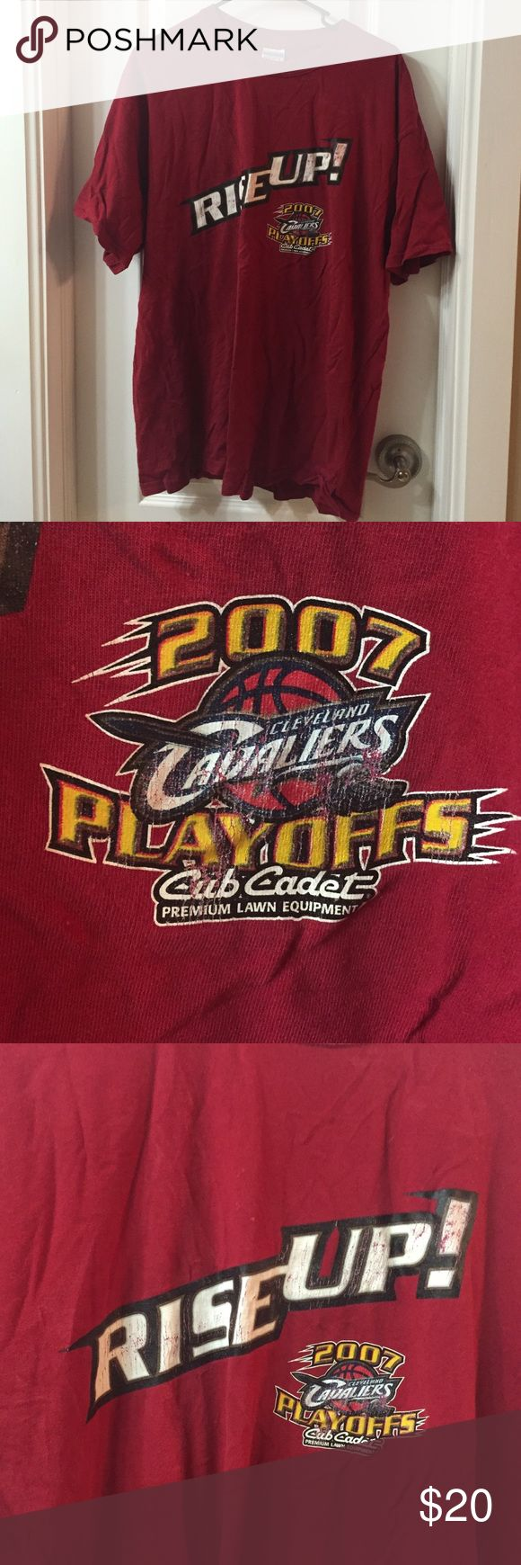 2007 Cleveland Cavaliers tee shirt playoffs- 2007 Cleveland Cavaliers tee shirt playoffs- Shirts Tees - Short Sleeve