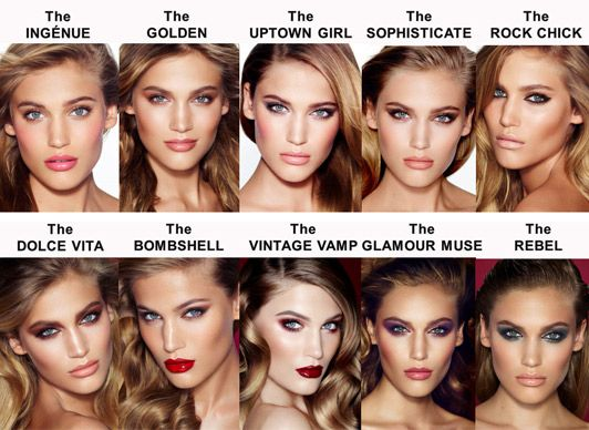 Tilbury's top ten looks. Watch: Charlotte Tilbury's modern make-over.