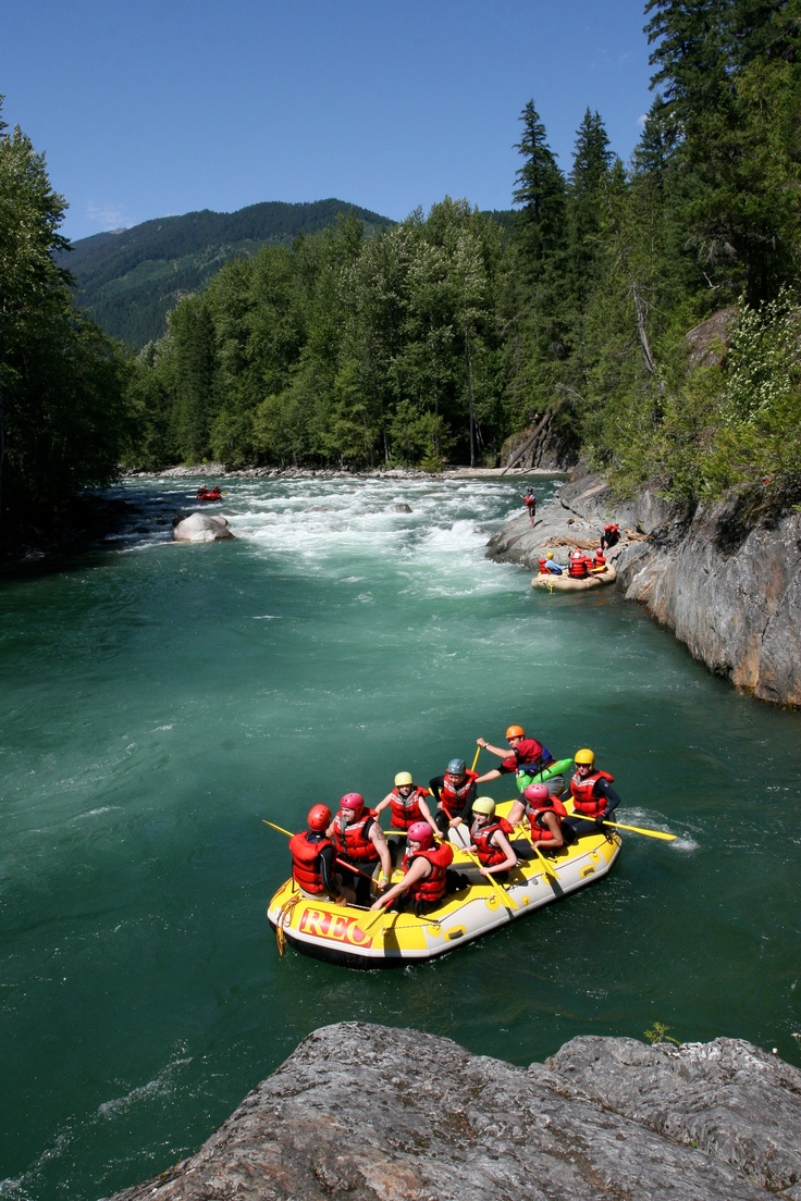 REO Rafting Resort - Nahatlatch Canyon - http://travelthecanyn.com