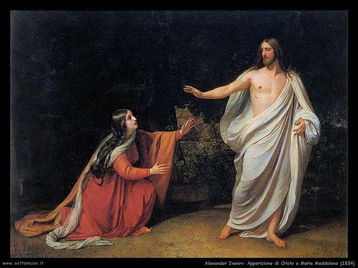 Apparizione di Cristo a Maria Maddalena, 1834, Alexander Ivanov