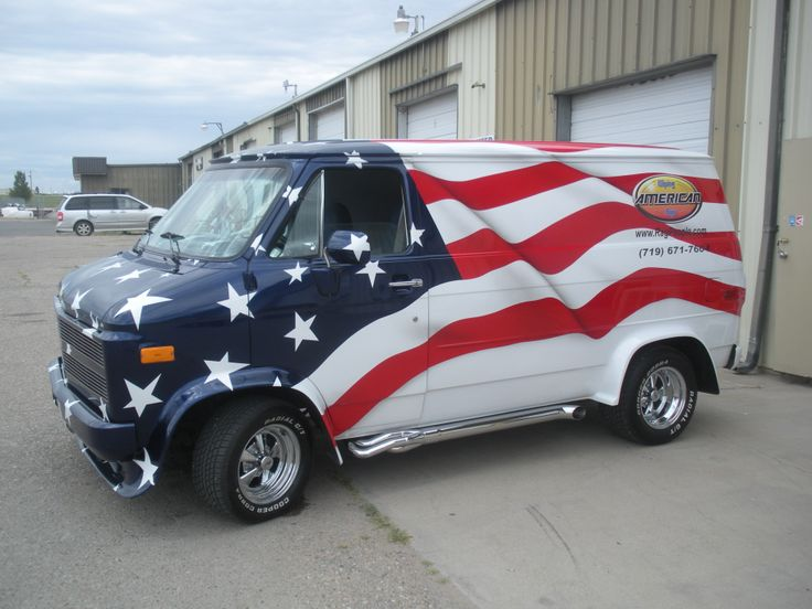 These colors don't run. (Neither does the van).