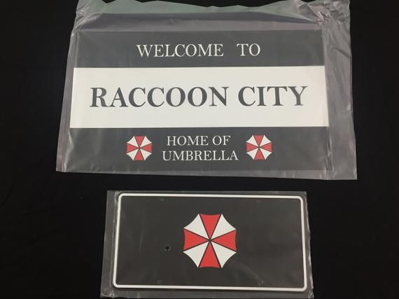 Resident Evil Welcome To Racoon City Home Of Umbrella Corp Adult T Shirt