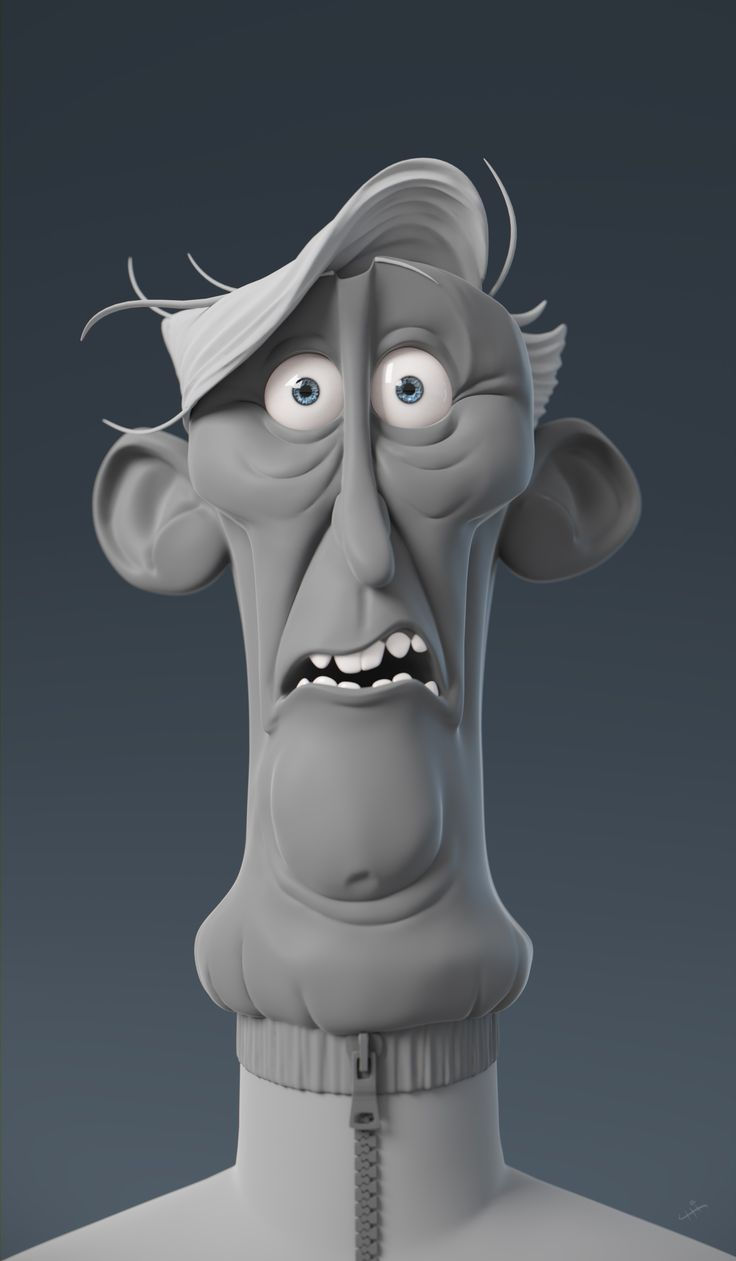 A sculpt based on great art from amazing artist Dan Seddon. I love to test 3d characters expressions with 3D sculpt and see how far I can push them. A very funny exercise. I hope you enjoy it.