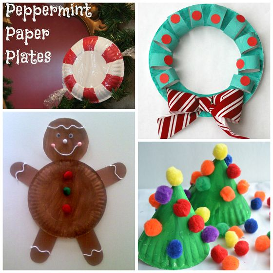 Here are my favorite christmas paper plate crafts for the kids to make! Find santa, reindeers, christmas trees, wreaths, and more art projects.