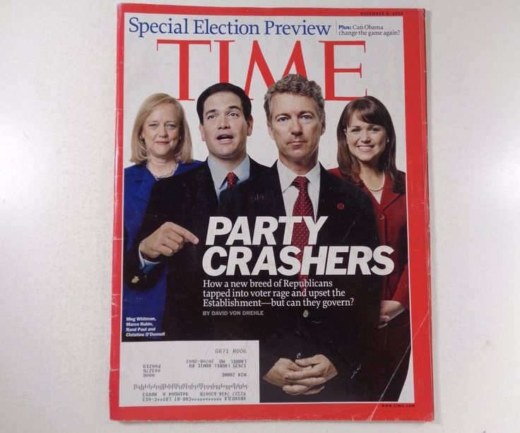 Time Magazine Special Election Preview Party Crashers, November 8, 2010
