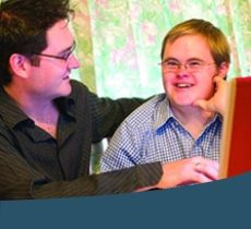http://www.ableaustralia.org.au/support-our-work/make-donation?gclid=CIORrtSw7NICFdAEKgod8UUEzg:  Able australia provides a specified 'deafblind' service. This includes services such as: Life transition planning, including mentoring and peer support Digital literacy and assistive technology training and support (Ablelink) Telephone or video interpreting Auslan training  Interpreting and translating support.