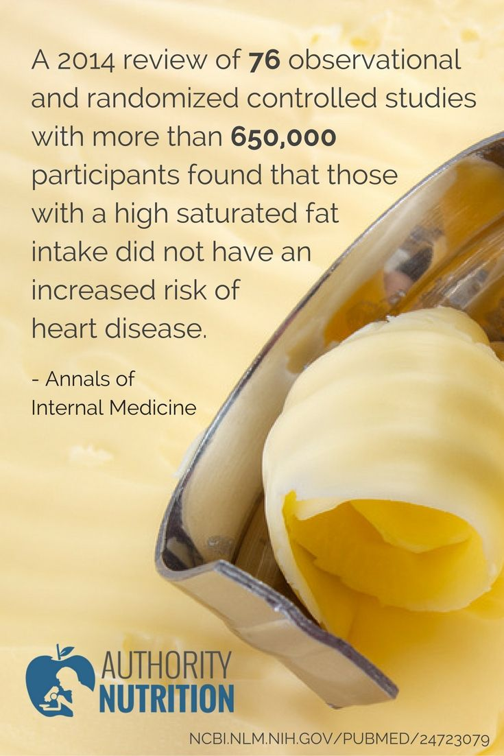 Saturated fat is not the enemy.