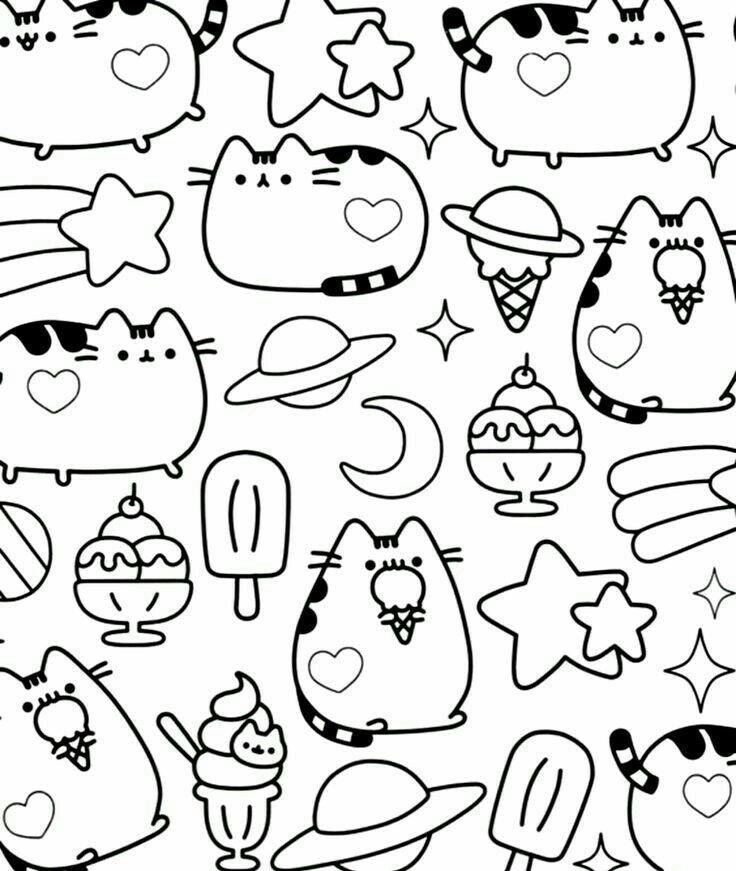 Pushen Dibujos Tumblr Para Colorear Dibujos Y Dibujos Bonitos