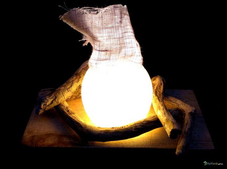 Les 25 meilleures id es de la cat gorie ampoule flamme sur for Traitement bois flotte