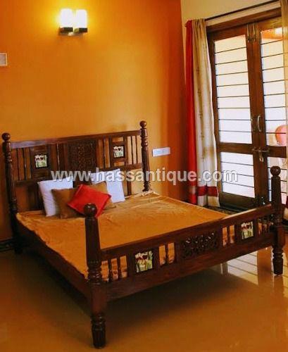 teakwood bed antique furniture in 2019 antique console table rh pinterest com