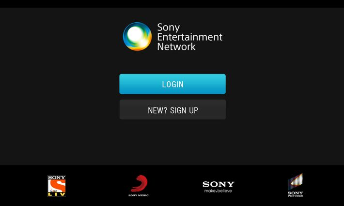 SONY - UX UI by Santhosh Katta, via Behance