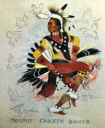 *Prairie Chicken Dancer - George Flett