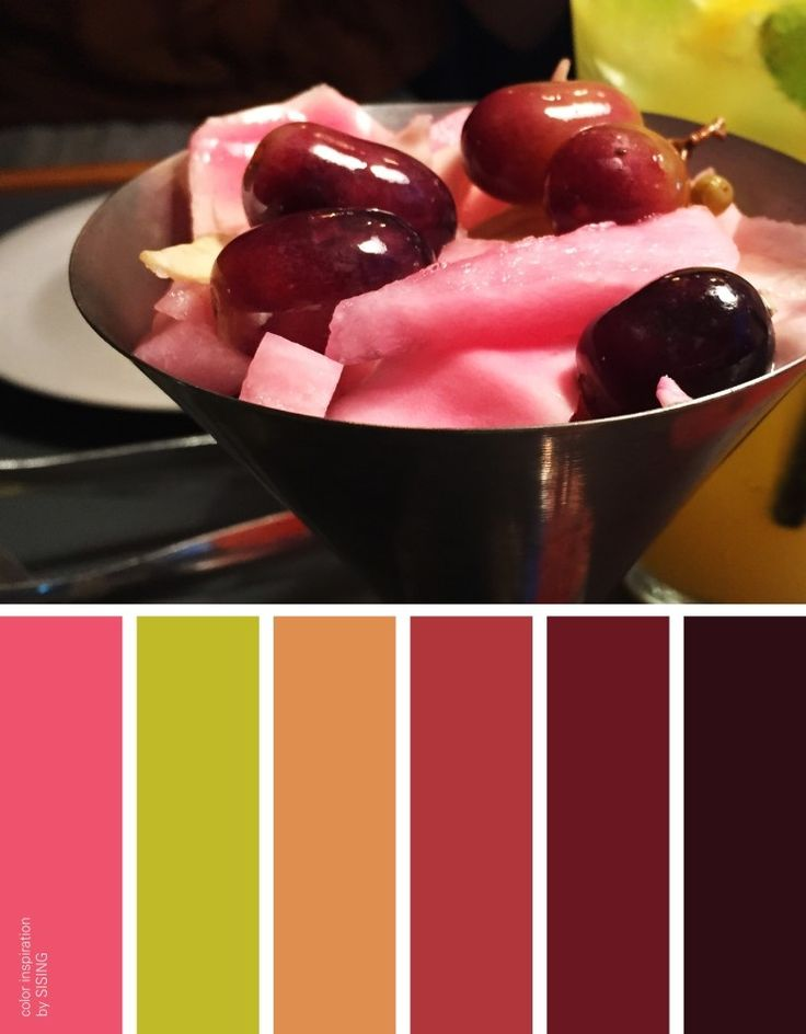 color inspiration & photo by SISING